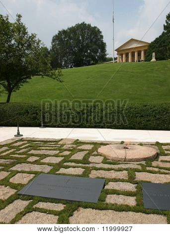 JFK Grave, Arlington Cemetary