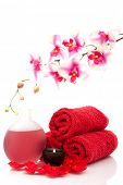 foto of essential oil  - Spa towel - JPG