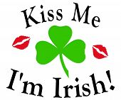 Kiss Me I'M Irish Redlips