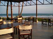 Outdoor Dining Area Found At Bintan, Indonesia poster