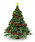 Постер, плакат: 3D Рождественская елка
