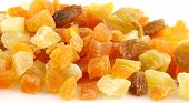Dried Summer Fruits Close Up Shallow Odf poster