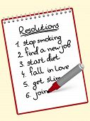 notepad resolutions