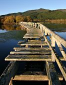 Derelict Pier, Lake Taupo, New Zealand