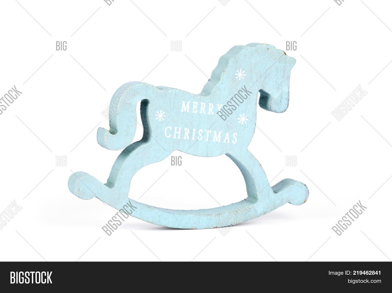 Wooden small toy horse on white image photo bigstock wooden small toy horse on a white background christmas blue horse on isolation symbol buycottarizona