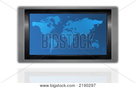 World Map Display