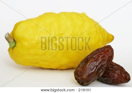Jewish Citron & Dates