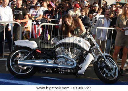 LOS ANGELES - JUL 19:  Francia Raisa arriving at the