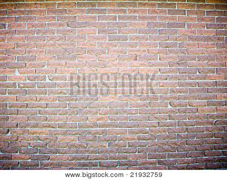 Chiseld Brick Wall Background