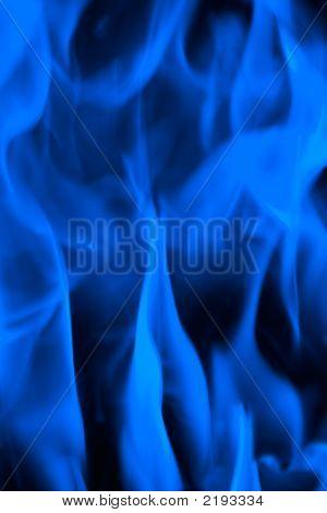 blaues Feuer