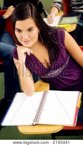 Female University Student