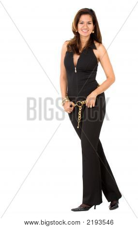 Confident Business Woman Standing