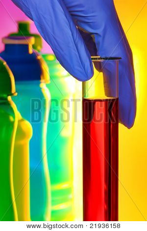 Test Tube In Science Research Lab