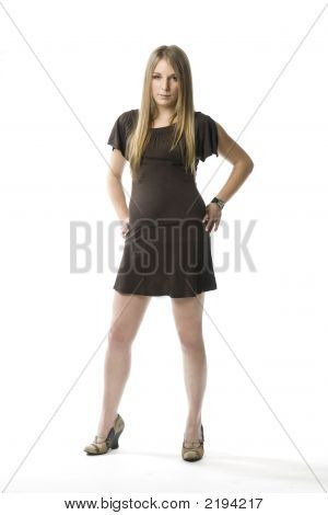 Young Woman Standing