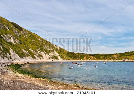 Lulworth Cove.