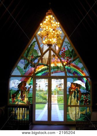 Stained Glass And Doors