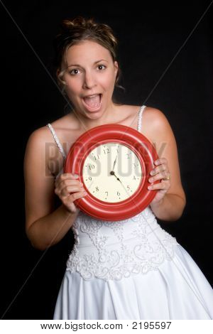 Bride With Clock