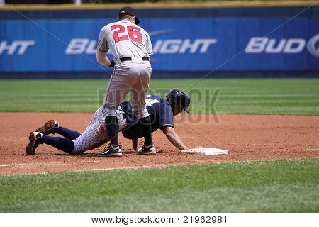 Scranton Wilkes Barre Yankees Justin Maxwell