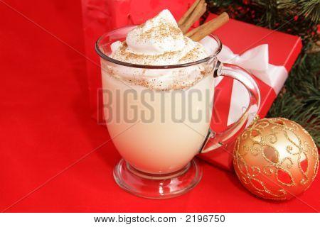 Christmas Eggnog & Copyspace