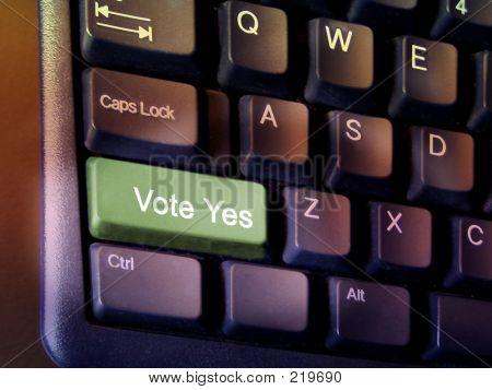 Vote Yes Key