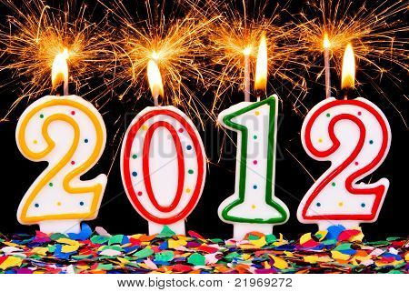 2012 Sparklers And Confetti