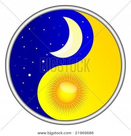 day and night yin yang