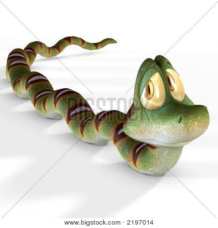 Toon Snake 08 B Kopie