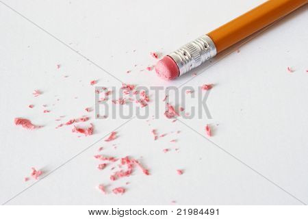 Erasing
