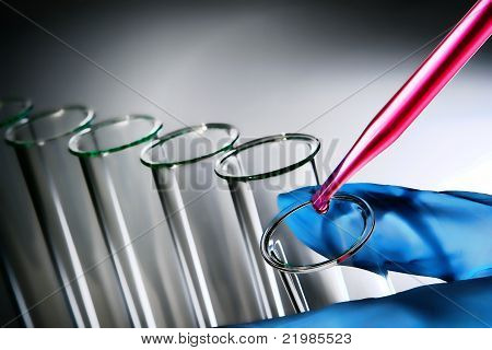 Experiment In Science Research Lab
