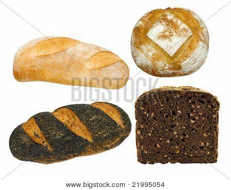 variedad de pan saludable