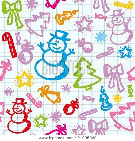 patrón de Navidad