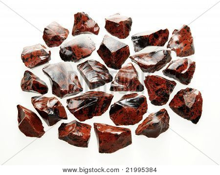 Small rough stones