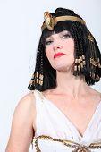 foto of cleopatra  - Woman in Cleopatra costume - JPG