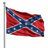 image of confederate flag  - Confederate Flag - JPG