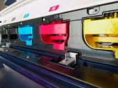 picture of dtp  - modern digital printing press - JPG