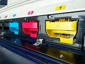 image of dtp  - modern digital printing press - JPG