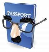 stock photo of smuggling  - Identity theft concept - JPG