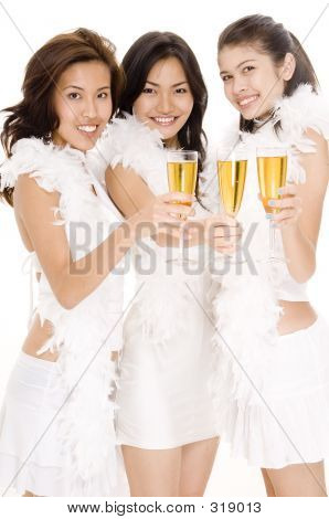 Champagne Girls #1