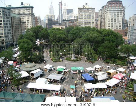 Aerial View Of Union Square