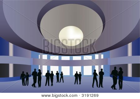 Big Hall Vector