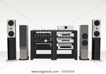 Hi-Fi Music 2 Vector