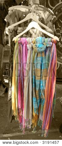 Coloured Scarves