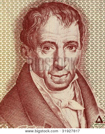 GREECE - CIRCA 1978: Adamantios Korais (1748-1833) on 100 Drachmai 1978 Banknote from Greece. Humanist scholar credited with laying the foundations of Modern Greek literature.