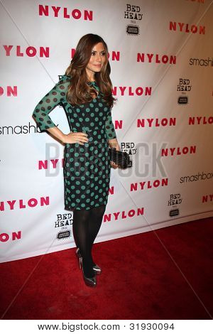 LOS ANGELES - APR 10:  Marisol Nichols arrives at the NYLON Magazine 13th Anniversary Celebration at Smashbox on April 10, 2012 in Los Angeles, CA