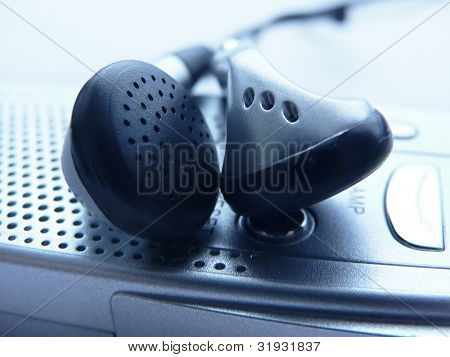 Mp3 player headphones