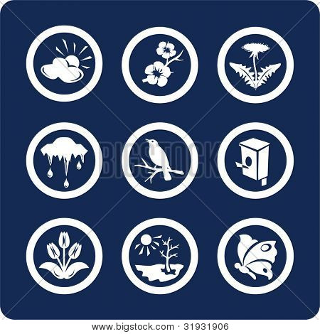 "Seasons: Spring icons To see all icons, search by keywords: ""agb-vector"" or ""agb-raster"""