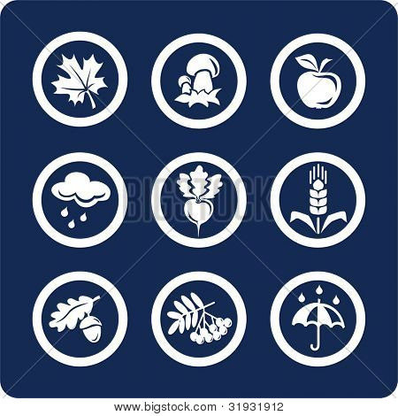 "Seasons: Autumn icons To see all icons, search by keywords: ""agb-vector"" or ""agb-raster"""