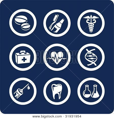 "Medicine and Healthcare (p.2) To see all icons, search by keywords: ""agb-vector"" or ""agb-raster"""