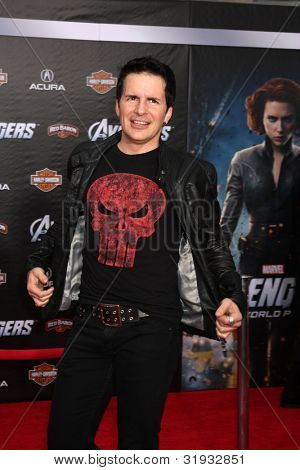 LOS ANGELES - APR 11:  Hal Sparks arrives at