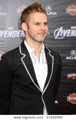 """LOS ANGELES - APR 11:  Dominic Monaghan arrives at """"The Avengers"""" Premiere at El Capitan Theater on April 11, 2012 in Los Angeles, CA"""